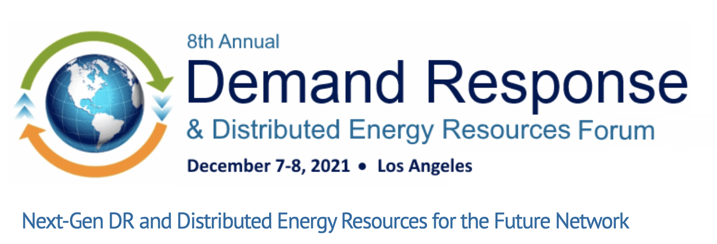 8th Annual Demand Response & Distributed Energy Resources Forum